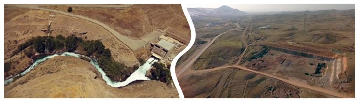 خط انتقال و تصفیه خانه آب شرب از سد طالقان به استان قزوین